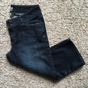 Gap Factory Curvy Flare Cropped Women's Jeans